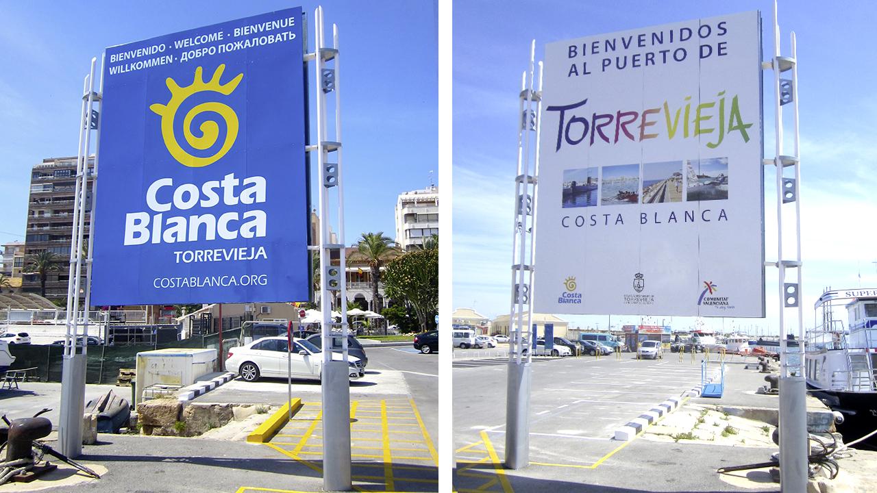 Valla - Torrevieja - Publicidad exterior