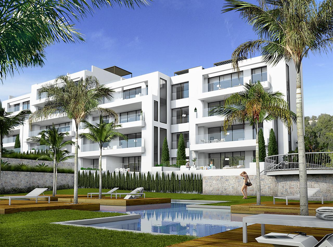 Infografías Apartamentos Las Colinas - Orihuela Costa
