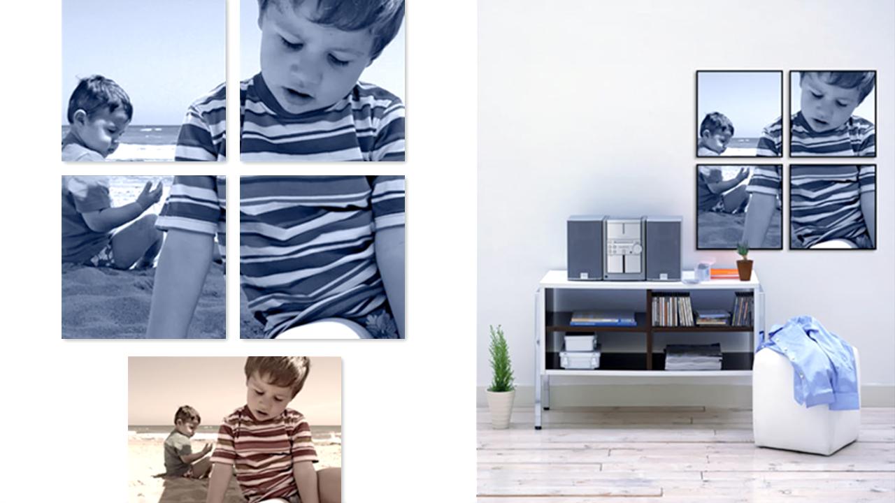Decoración con imágenes - Impresión Digital - Marco