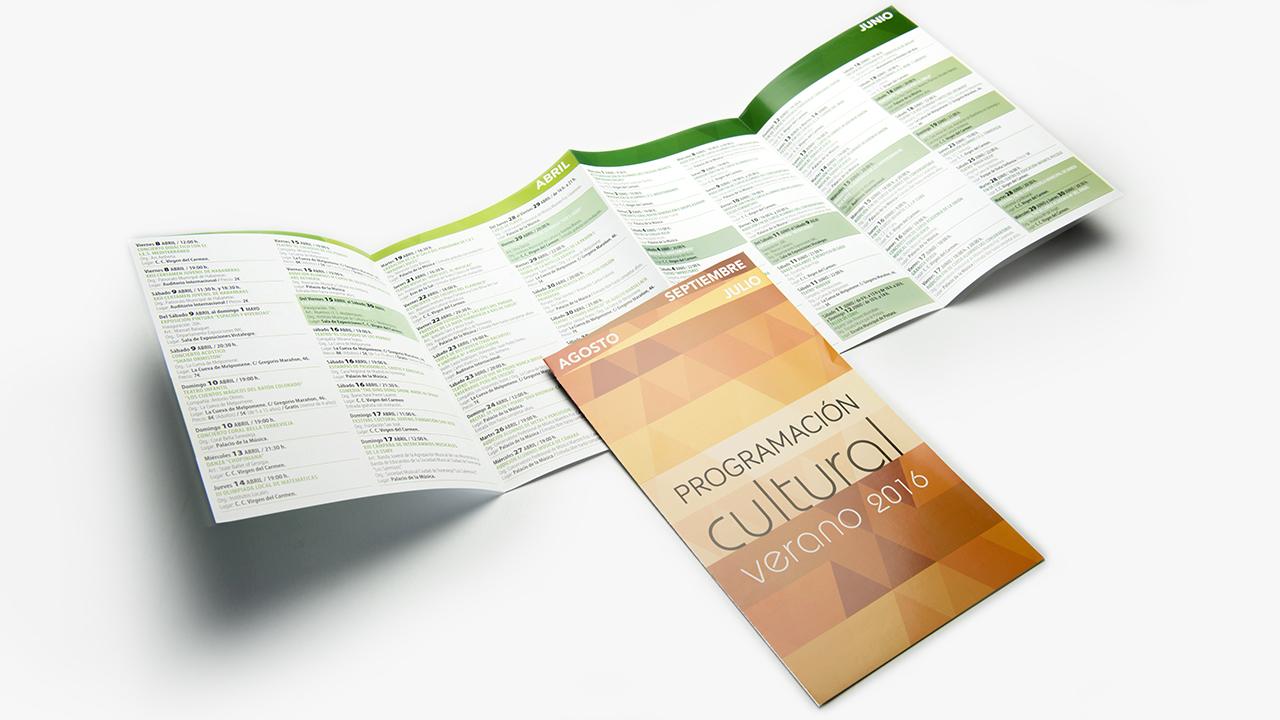 Programa Cultural - Diseño Gráfico