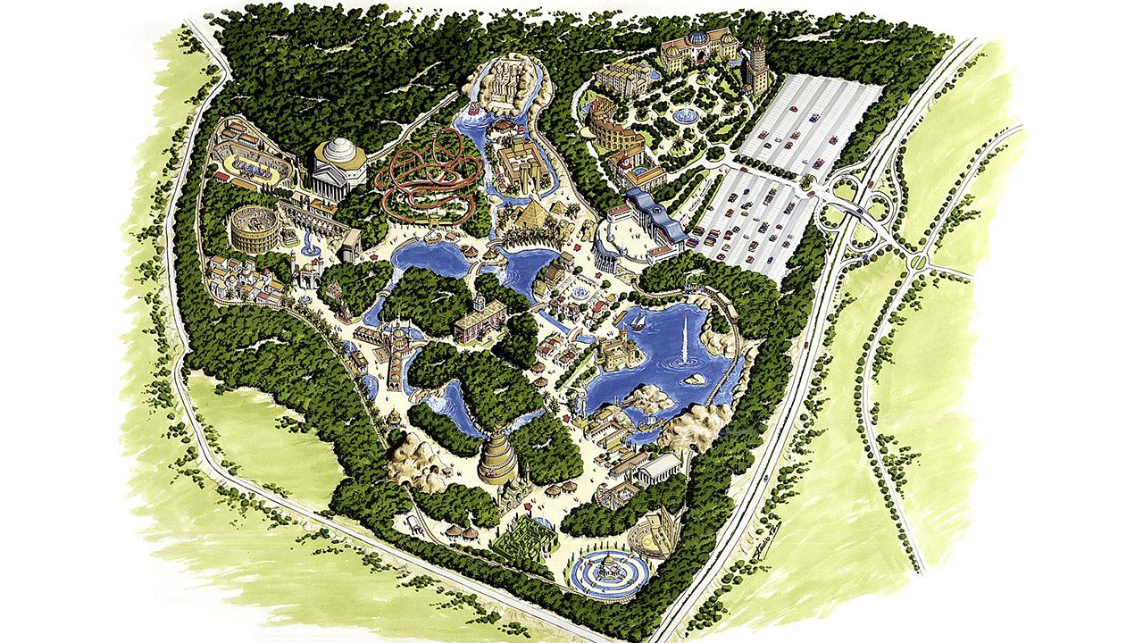 Acuarela - Parque de Temático