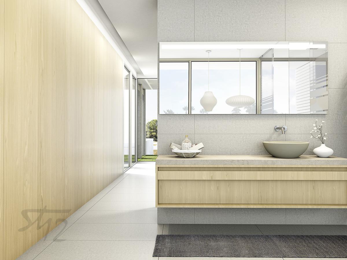 Baño armario
