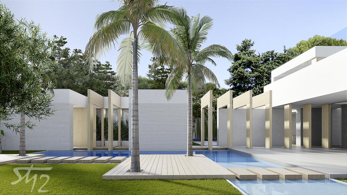 Panorámica piscina